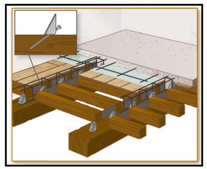 Consolidamento Solai In Legno.Un Connettore Meccanico Per Consolidamento Statico Dei Solai In Legno