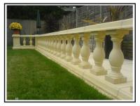Balaustre tradizionali in calcestruzzo per terrazze e giardini1