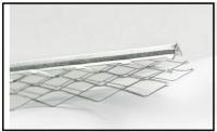 Messa in opera di idonei profili metallici o in PVC  per intonaci 1