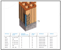 Profilo angolare per interno-esterno 1