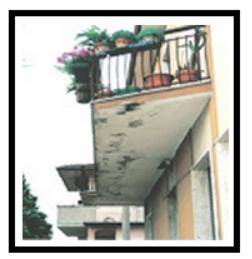 4 Balcone con infiltrazioni 1 1