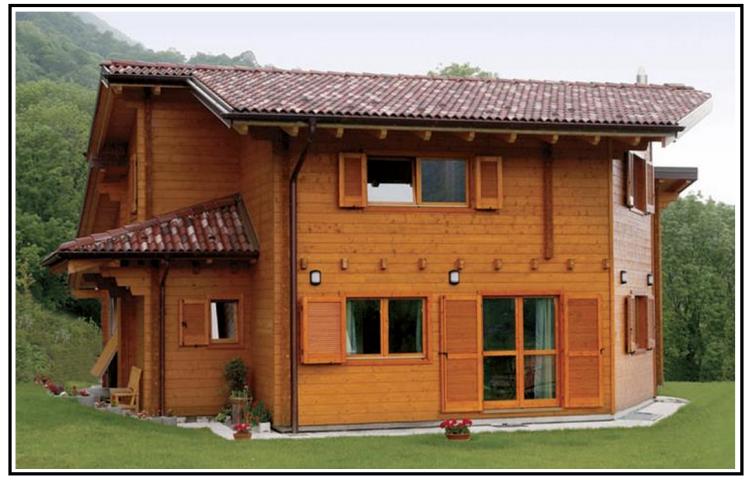 Edifici in legno per un futuro pi vivibile - Casa in legno economica ...