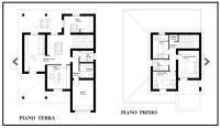 Piante villa 1