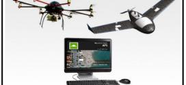 La produzione di dati cartografici mappati da un drone