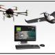 A La produzione di dati cartografici mappati da un drone