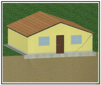 Casa con lesione 1