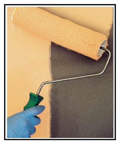 Una pittura per esterni interni idrorepellente e - Pittura idrorepellente per esterni trasparente ...