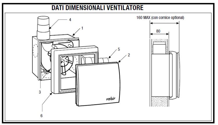 Aspiratori per bagno cieco indietro dolce mobile da - Aspiratore centrifugo bagno ...