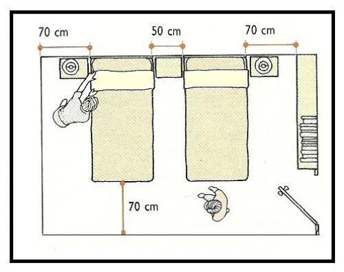 dimensioni minime bagno e antibagno disabili  pasionwe, Disegni interni