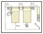 Spazi utili nei vani studio camere e bagno  1