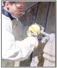 Un consolidamento e rinforzo strutturale murature con iniezione di legante 1