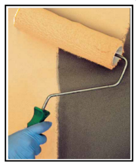 Una pittura per esterni interni idrorepellente e resistente agli UV 1