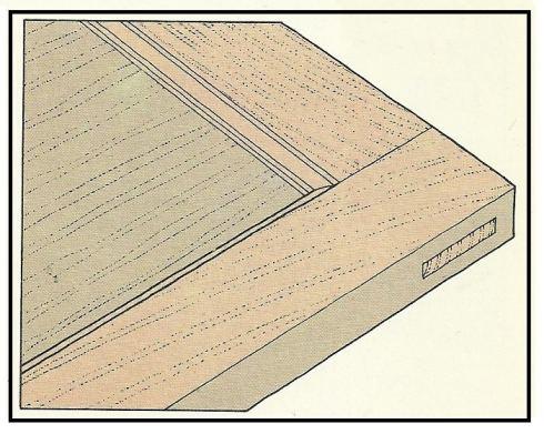 Eseguire una venatura simulata sui vecchi infissi di casa for Vecchi piani di casa artigiano
