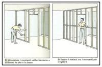 Costruzione di parete interna con struttura in legno, Parte Seconda 1
