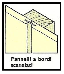 Pannelli a bordi scanalati 1 1