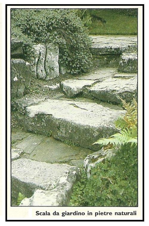 Fare gradini in muratura nel nostro giardino - Scale per giardini ...