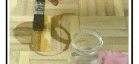 Come effettuare la scoloritura delle macchie sul legno