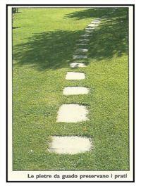 Messa in opera di pavimentazioni irregolari nei giardini 1