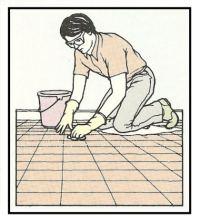 Pulizia e recupero di pavimentazioni di vari materiali 1