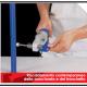 A Come riparare un tubo di polipropilene forato accidentalmente nel muro