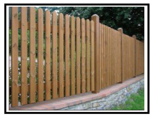 Tipi di recinzioni loro utilit e scelta for Recinzione legno