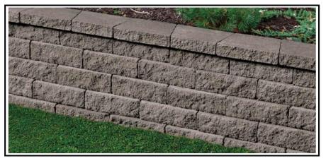 Un nuovo modulo per un muro a secco per giardino - Blocchi cemento per giardino ...