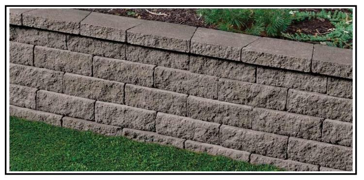 Un Nuovo Modulo Per Un Muro A Secco Per Giardino
