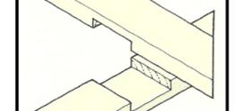I giunti fondamentali per opere di falegnameria di una casa