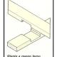 A I giunti fondamentali per opere di falegnameria di una casa