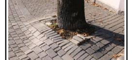 Sistema innovativo contro i dissesti creati dalle radici degli alberi