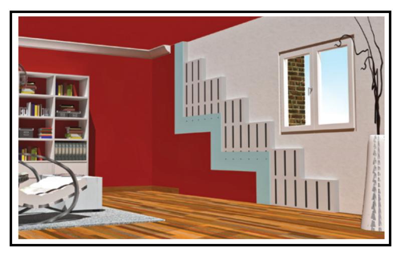 Cappotto termico da interno con struttura pre installata - Pannelli per cappotto interno ...