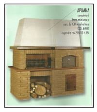 Forni caminetti prefabbricati e loro rivestimento 1