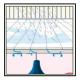 A Protettivo impermeabilizzante idrorepellente, per terrazze piastrellate in gres, cotto, clinker