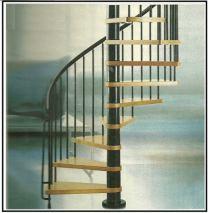 Come montare una scala a chiocciola acquistata in Kit p
