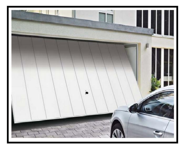 Montaggio di una porta da garage basculante for Porta basculante per cani grandi con microchip