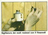 Preparazione del legno prima di ogni trattamento 1