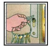 Apertra con chiavi 1