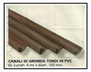 Gronda in PVC 1