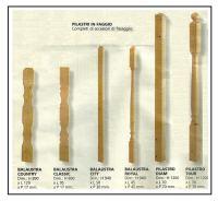 Pilastri in faggio 1