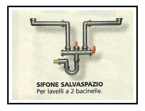 collegare lavatrice e lavastoviglie allo scarico e alla rete idrica - Sifoni Salvaspazio Per Lavabi