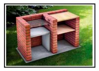 Un bel barbecue realizzato con mattoni a facciavista 1
