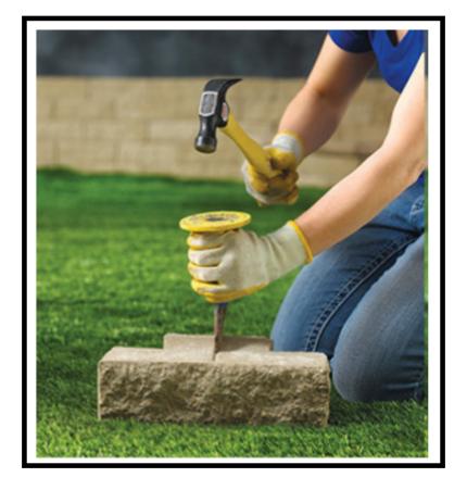 Un muro fai da te per i mille progetti del nostro giardino - Giardino del te ...