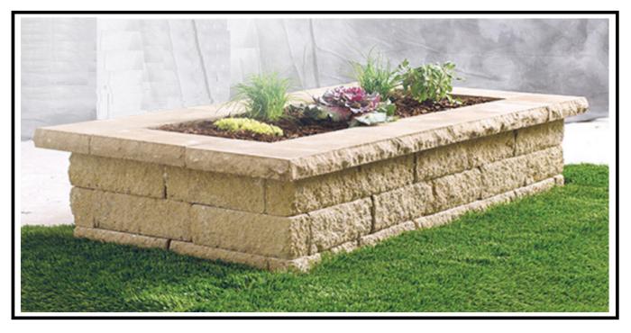 Un muro fai da te per i mille progetti del nostro giardino - Pozzi da giardino fai da te ...