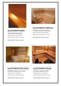 Interni di sauna 1