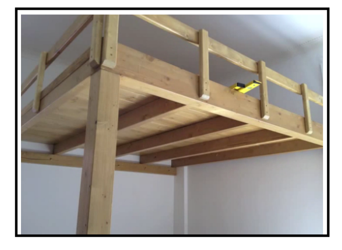 Soppalchi in legno che creano confort in ogni abitazione for Quanto costruire un piccolo garage
