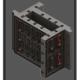 A Una cassaforma in ABS per pilastri utilizzabile e modulare