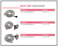 Un connettore strutturale costituito da una corda realizzata con fibre di carbonio ad alta resistenza 1