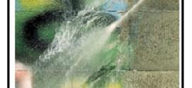 Un detergente per superfici di facciate danneggiate con i graffiti