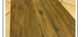 Un gres porcellanato effetto pavimenti  di legno