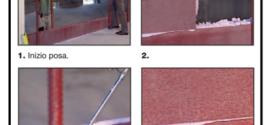 Sistema costruttivo a secco bloccato con collante poliuretanico